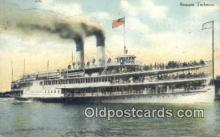 shi009673 - Steamer Tashmoo Steam Ship Postcard Post Cards