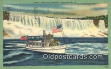 shi009678 - Maid Of The Mist, Niagara Falls, New York, NY USA Steam Ship Postcard Post Cards