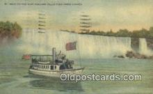 shi009679 - Maid of The Mist, Niagara Falls, Canada Steam Ship Postcard Post Cards