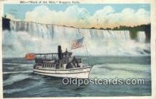 shi009680 - Maid of The Mist, Niagara Falls, Canada Steam Ship Postcard Post Cards