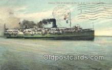 shi009681 - Steamer City Of Buffalo, C And B Line, Cleveland, Ohio, OH USA Steam Ship Postcard Post Cards