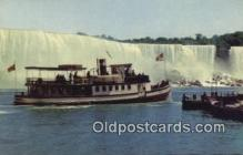 shi009682 - Maid Of The Mist, Niagara Falls, New York, NY USA Steam Ship Postcard Post Cards