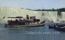 shi009683 - Maid Of The Mist, Niagara Falls, New York, NY USA Steam Ship Postcard Post Cards
