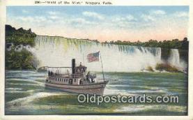 shi009685 - Maid Of The Mist, Niagara Falls, New York, NY USA Steam Ship Postcard Post Cards