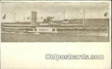 shi009690 - SS Albany, Hudson River Day Line, New York, NY USA Steam Ship Postcard Post Cards