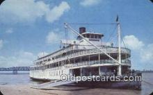 shi009691 - The Delta Queen, Memphis, Tennessee, TN USA Steam Ship Postcard Post Cards