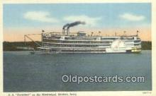 shi009695 - SS President ON The Mississippi River, Keokuk, Iowa, IA USA Steam Ship Postcard Post Cards