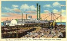 shi009700 - The Famous Steamboat, Robert E Lee, New Orleans, Louisiana, LA USA Steam Ship Postcard Post Cards
