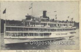 shi009703 - Steamer Peter Stuyvesant, New York, NY USA Steam Ship Postcard Post Cards