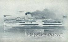 shi009706 - Steam Ship Postcard Post Cards