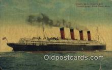 shi009707 - RMS Mauretania Steam Ship Postcard Post Cards