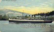 shi009710 - SS Princess Charlotte Steam Ship Postcard Post Cards