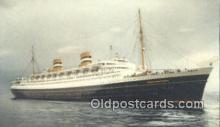 shi009731 - SS Nieuw Amsterdam Steam Ship Postcard Post Cards