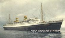 shi009733 - Ss Nieuw Amsterdam Steam Ship Postcard Post Cards