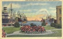 shi009735 - Ships Of Many National, Mobile, Alabama, AL USA Steam Ship Postcard Post Cards