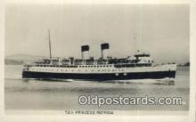 shi009743 - TEV Princess Patricia Steam Ship Postcard Post Cards