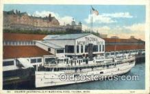 shi009747 - Steamer Indianapolis At Municipal Dock, Tacoma, Washington, WA USA Steam Ship Postcard Post Cards