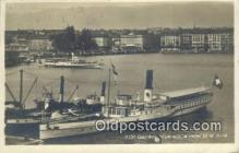 shi009749 - Geneve Vue Sur La Rade Et Le Jura Steam Ship Postcard Post Cards