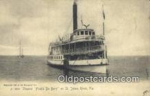 shi009750 - Steamer, Fred'k De Bary Steam Ship Postcard Post Cards