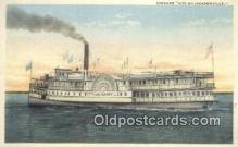 shi009752 - Steamer City Of Jacksonville Steam Ship Postcard Post Cards