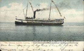 shi009760 - The Steamer Cabrillo Avalon, Catalina Island, California, CA USA Steam Ship Postcard Post Cards