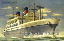 shi009770 - American President Lines, SS President Cleaveland  Steam Ship Postcard Post Cards