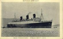 shi009771 - RMS Queen Mary Steam Ship Postcard Post Cards