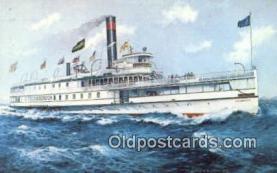 shi009774 - Ticonderoga, Shelburne, Lake Champlain Steam Ship Postcard Post Cards