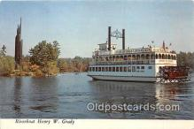 Riverboat Henry W Grady