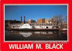 Sidewheeler William M Black