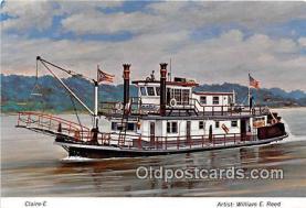 shi009971 - Ferry Boat Postcard