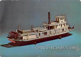 Stern Wheel Towboat