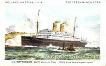 shi010003 - Holland - American Cruise Lines<br><br>Rotterdam postcard postcards