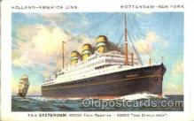 shi010004 - Holland - American Cruise Lines<br><br>TSS Statendam postcard postcards