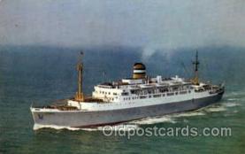 shi010006 - s.s. Maasdam Holland America Line Ship Ships