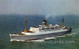 shi010007 - s.s. Maasdam Holland America Line Ship Ships