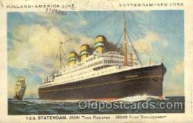 shi010010 - Statendam Holland America Line Ship Ships