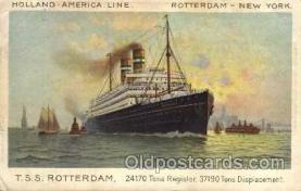 shi010011 - Rotterdam Holland America Line Ship Ships