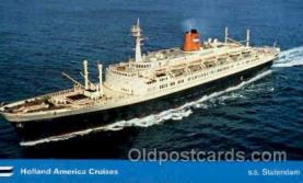 shi010014 - Statendam Holland America Line Ship Ships