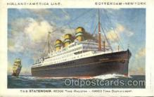 shi010016 - T.S.S. Statendam, Holland - America Line Postcard Postcards
