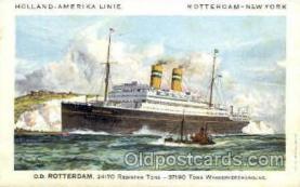 shi010017 - D.D. Rotterdam, Holland - America Line Postcard Postcards