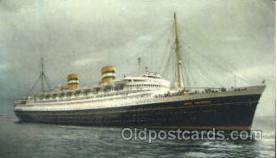 shi010025 - S.S. Nieuw Amsterdam, Holland - America Line Postcard Postcards