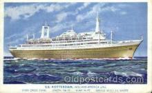 shi010032 - S.S. Rotterdam, Holland - America Line Postcard Postcards