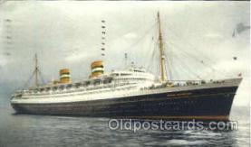 shi010036 - S.S. Nieuw Amsterdam, Holland - America Line Postcard Postcards