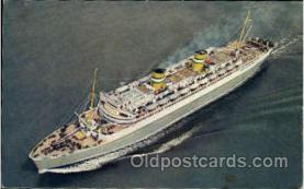 shi010039 - S.S. Nieuw Amsterdam, Holland - America Line Postcard Postcards