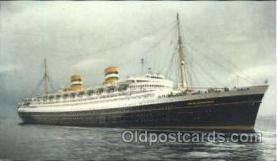 shi010040 - S.S. Nieuw Amsterdam, Holland - America Line Postcard Postcards