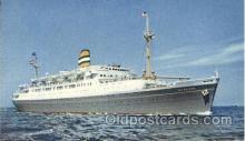 shi010050 - S.S. Maasdam Holland - American Line, Lines, Liner, Ship Ships Postcard Postcards