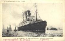 shi010060 - S.S. Rotterdam Holland - American Line, Lines, Liner, Ship Ships Postcard Postcards