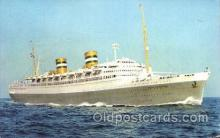 shi010061 - S.S. Nieuw Amsterdam Holland - American Line, Lines, Liner, Ship Ships Postcard Postcards