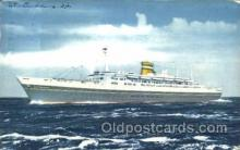 shi010063 - S.S. Statendam Holland - American Line, Lines, Liner, Ship Ships Postcard Postcards